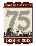 City of College Station's 75th Anniversary