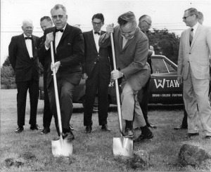 CS City Hall groundbreaking, 1969