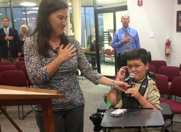 Boy Scout Pledge of Allegiance