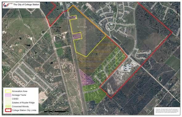 Annexation Areas