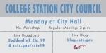 Monday council meeting