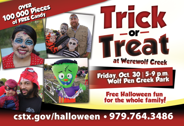Free Trick Or Treating Fun For The Whole Family City Of College