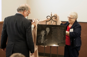 Meyer Plaque Dedication
