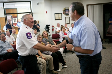 Fire chief retires