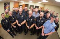 CSPD officers participated in No Shave November to raise funds and awareness for prostate and testicular cancer and male health in general.