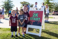 The Toddler 2K and Baby Crawl in early October featured a 25-yard dash and toddlers in a 2K run at Wolf Pen Creek Park.