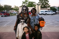 The Monster Bash and Haunted House at the Lincoln Recreaiton Center in October featured a haunted house, carnival games, joy jumps, refreshments, and, of course, plenty of candy.