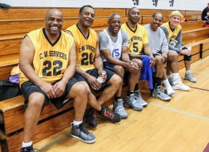 If you have any doubt that the Brazos Valley Seniors Games is loaded with bonafide athletes, these guys are willing to set you straight on the basketball court.