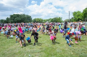 The annual Easter Egg Hunt at W.A. Tarrow Park attracts dozens of youngsters each spring.