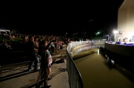 Crowd participation is the norm during Starlight Music Series concerts at Wolf Pen Creek Amphitheater.