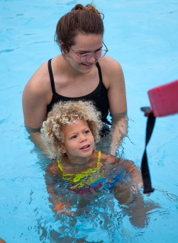 On June 22, College Station participated in the Worlds Largest Swimming Lesson, which brings together tens of thousands of individuals around the world to participate in the same lesson in a 24-hour period.