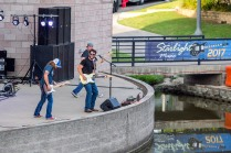 The Starlight Music Series at Wolf Pen Creek Amphitheater is a popular event for several weekends each spring.