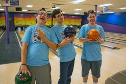 The Parks and Recreation Department offers basketball, soccer and bowling programs for those with special needs.