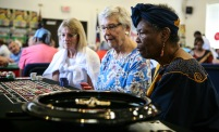 Casino Day at Southwood Community Center was a popular place to be in September.