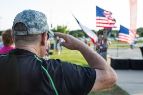 Presenting the colors and the playing of the National Anthem had added meaning at the U.S. Navy Band Cruisers concert in August at Veterans Park and Athletic Complex. .