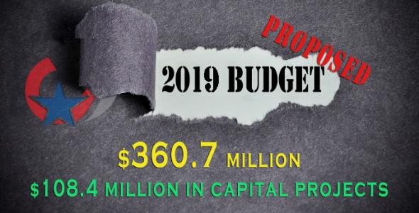 2019 budget graphic