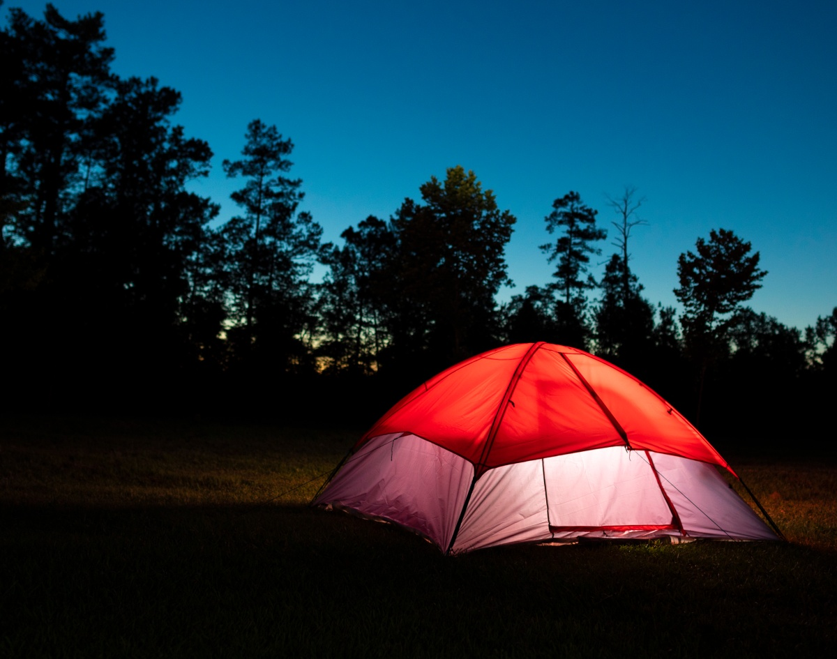 Park in the Dark like a backyard campout - only better ...