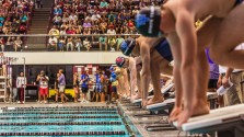 Games of Texas swimming