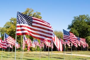 Brazos Valley Veterans Memorial Field of Valor