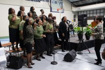 The New Jerusalem Missionary Baptist Church choir performed at the 36th annual MLK Keeping the Dream Alive Celebration in January at the Lincoln Recreation Center.