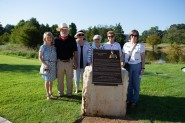 In August, the Cashion family joined friends and dignitaries to dedicatedFirst Down Park as a tribute to Red Cashion, a longtime NFL referee and local businessman and volunteer.
