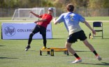 The Spikeball Roundnet tournament at Veterans Park & Athletic Complex in November was broadcast nationally on ESPN. The game is similar to 2-on-2 volleyball, but instead of hitting the ball over a net, its hit into a net that looks like a small trampoline.