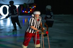 Santa took on the role of referee as part of December's Spirit Ice Arena Christmas Show. The event was part of the city's Christmas in College Station campaign that showcased holiday events around town.
