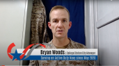 In the spring, City Manager Bryan Woods was recalled to active duty with the U.S. Navy Reserve to parts unknown. He addressed city staff by video as part of the city's Veterans Day celebration. Woods is set to return in early 2021.